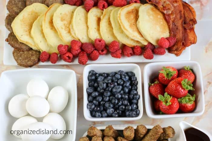 How to make a Breakfast Board