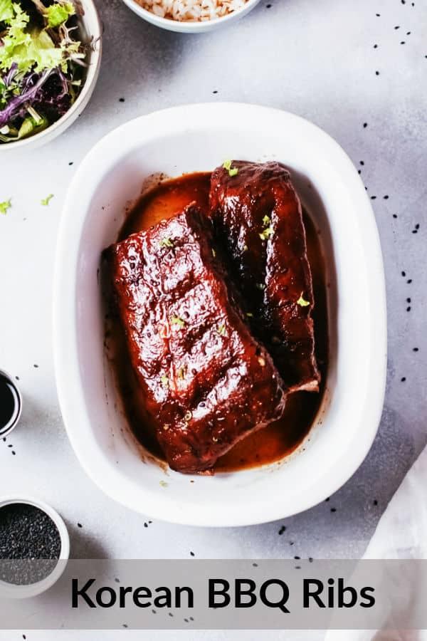 How to make korean bbq ribs.