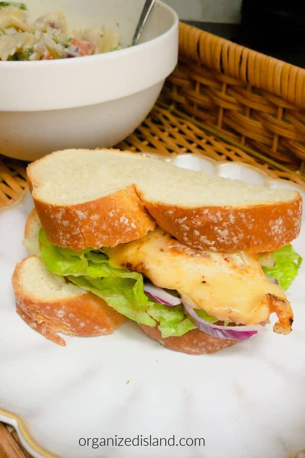 Monterey Jack Chicken Sandwich