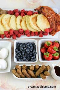 Pancake Breakfast Board