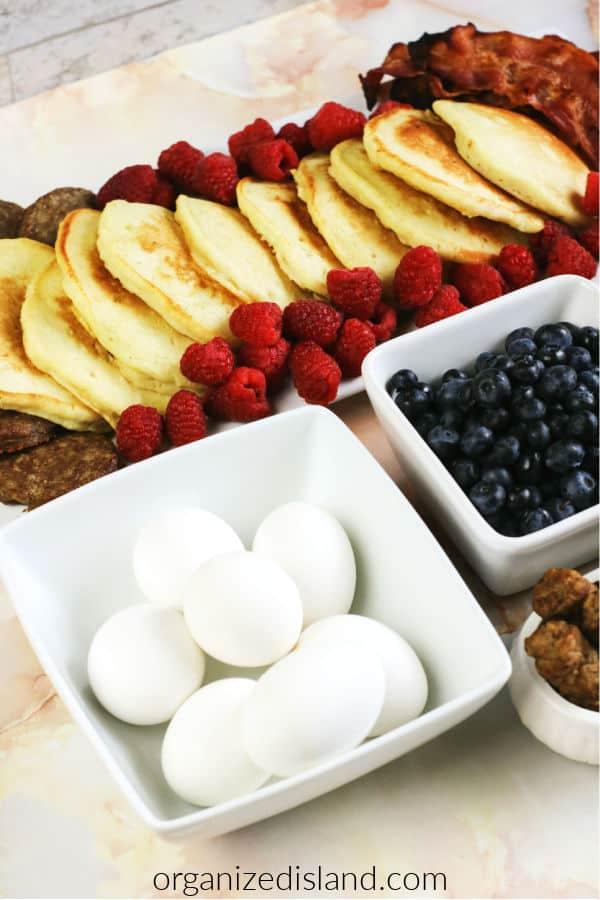 Pancake Breakfast Board Ideas