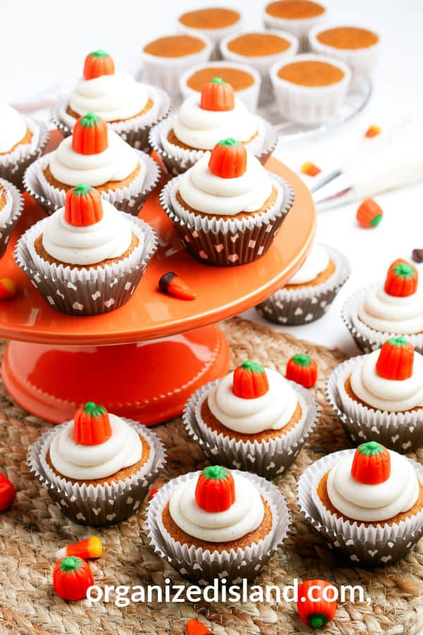 Pumpkin Cupcakes recipe easy