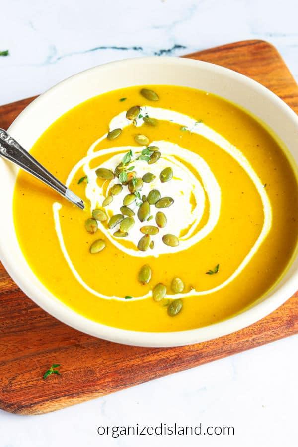 Roasted Pepper Soup Recipe