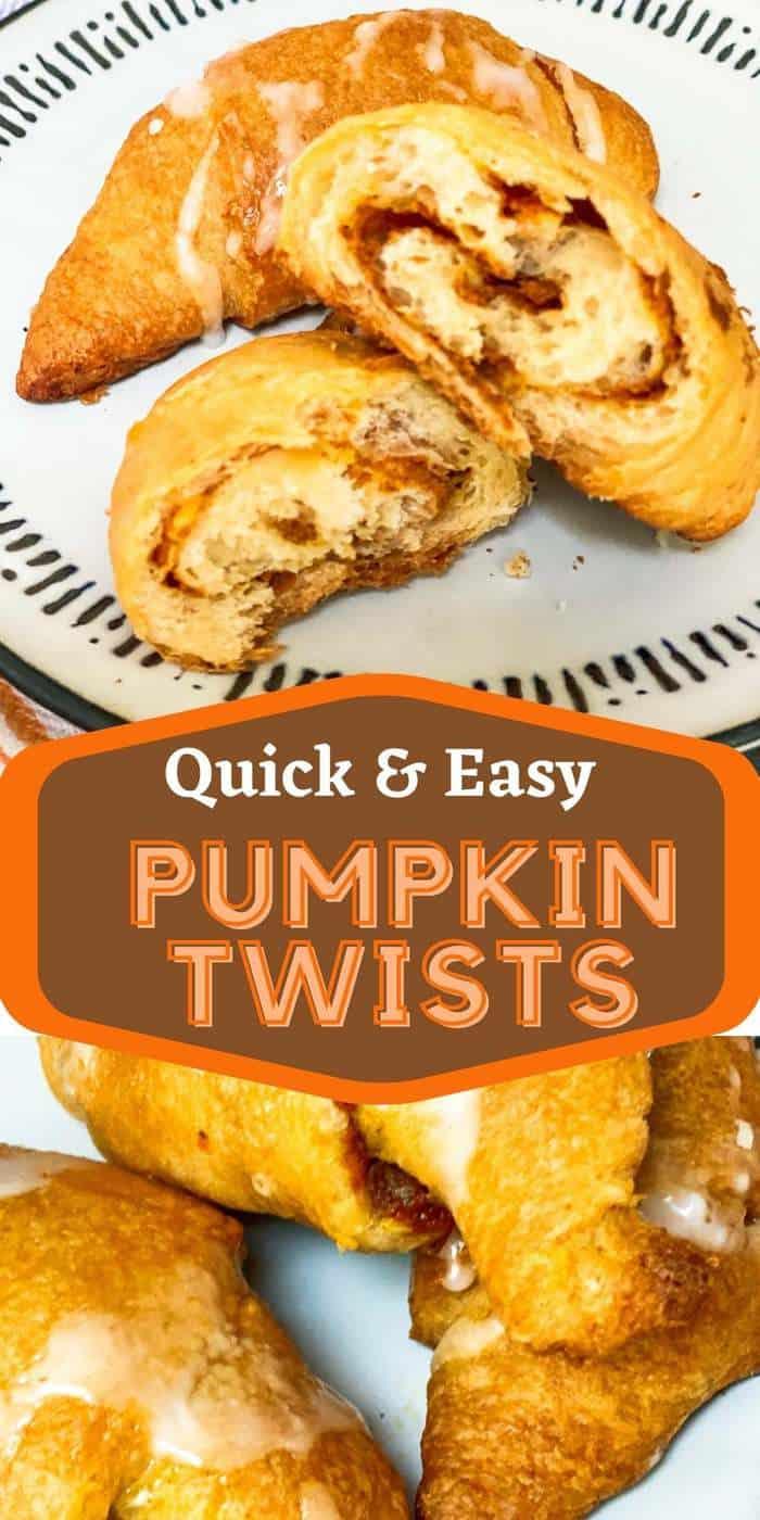 Pumpkin Twists Recipe