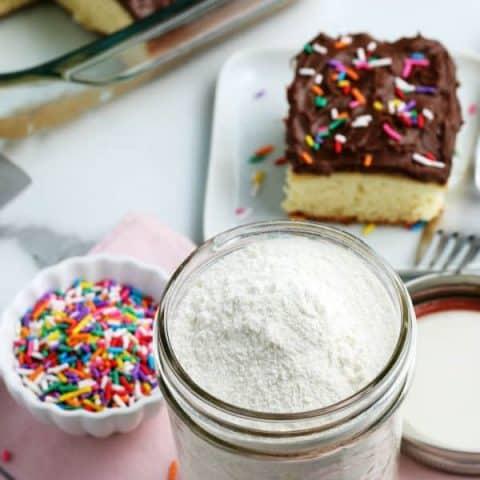 Homemade Cake Mix recipe