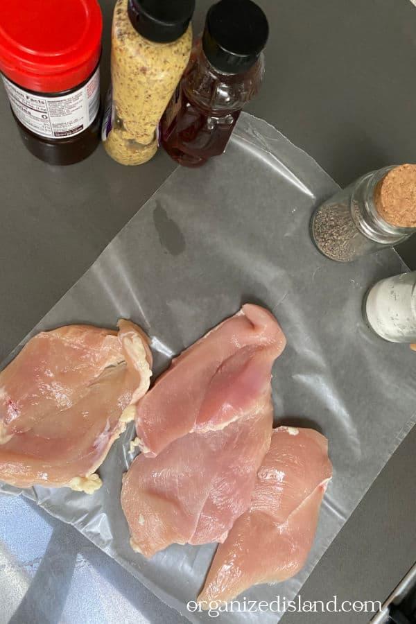 Honey Mustard Chicken Ingredients