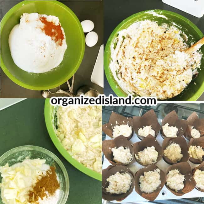 How to make homemade Easy Apple Muffins