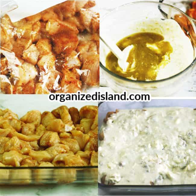 How to make homemade Greek Chicken Casserole Recipe