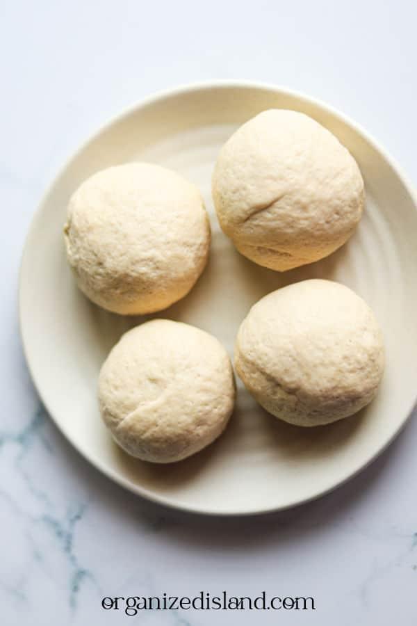 Pita Dough Balls