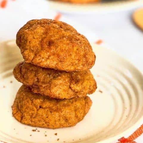 Pumpkin Snickerdoodles Cookies recipe