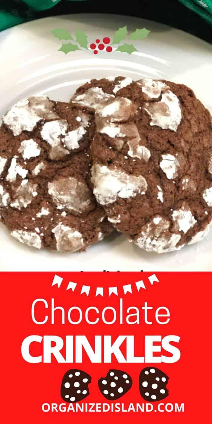Chocolate Crinkle Cookie