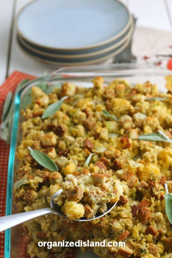 Cornbread Stuffing Recipe Easy