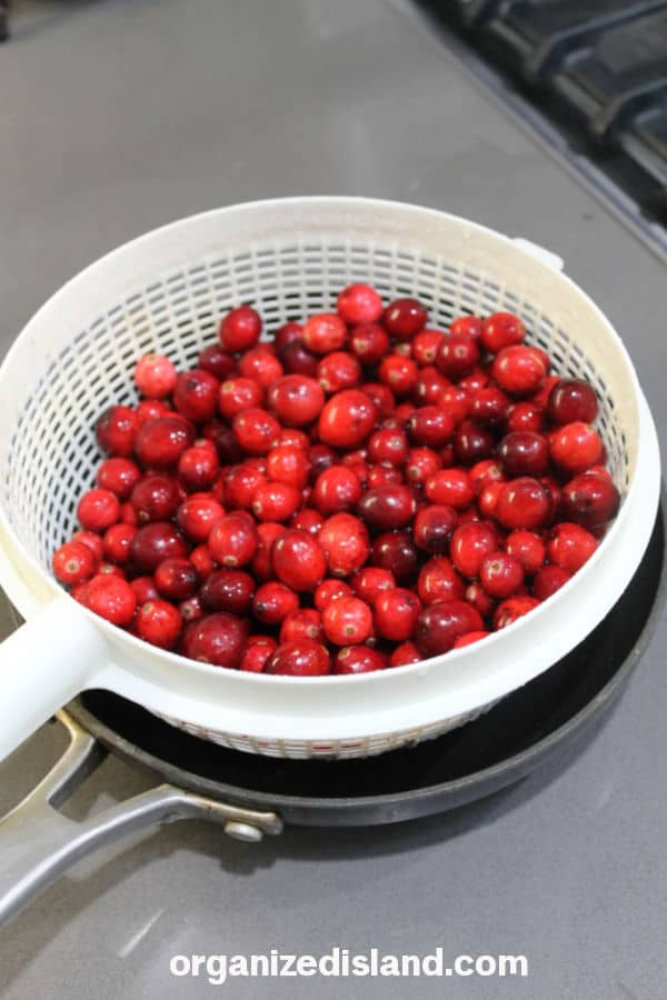 Cranberries for Cranberry Sauce