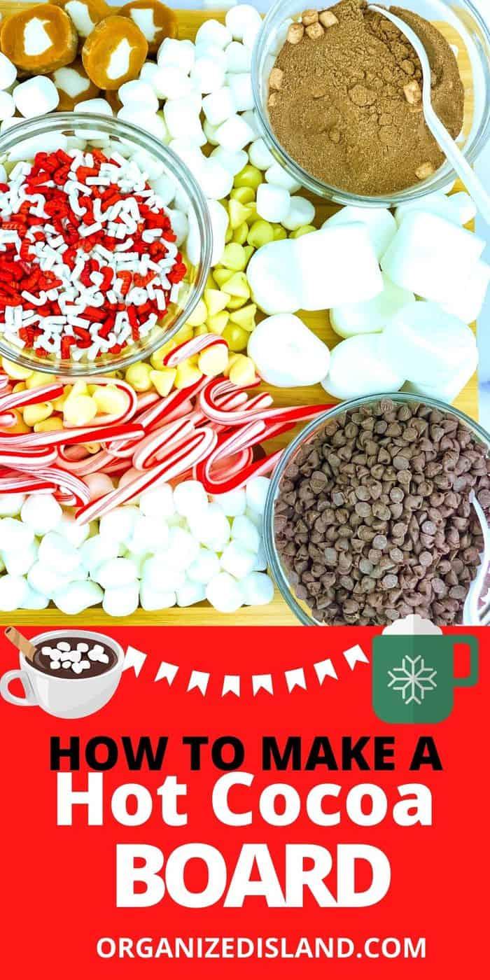 Hot chocolate board