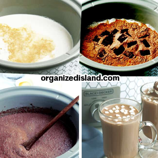 How to Make How to make Slow cooker hot chocolate
