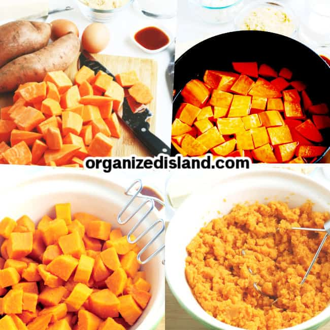 How to make a Sweet Potato Casserole