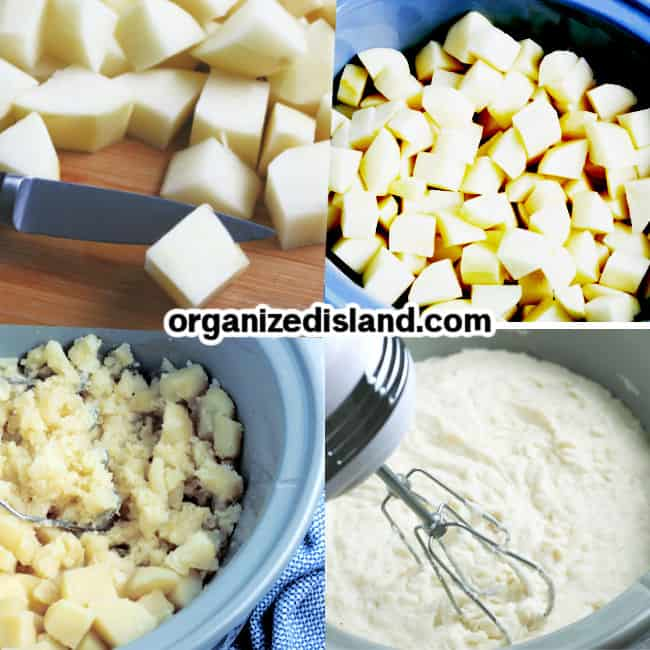 How to make slow cooker mashed potatoes