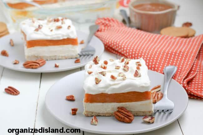 Pumpkin Lasagna Dessert Recipe