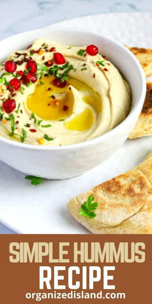 Simple Hummus Recipe