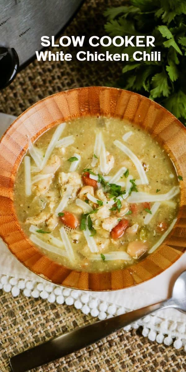 Slow Cooker White Chicken Chili Recipe Easy