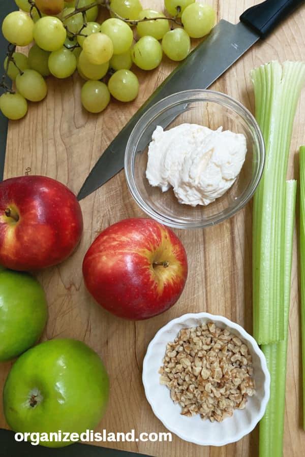 Waldorf Salad Recipe Ingredients