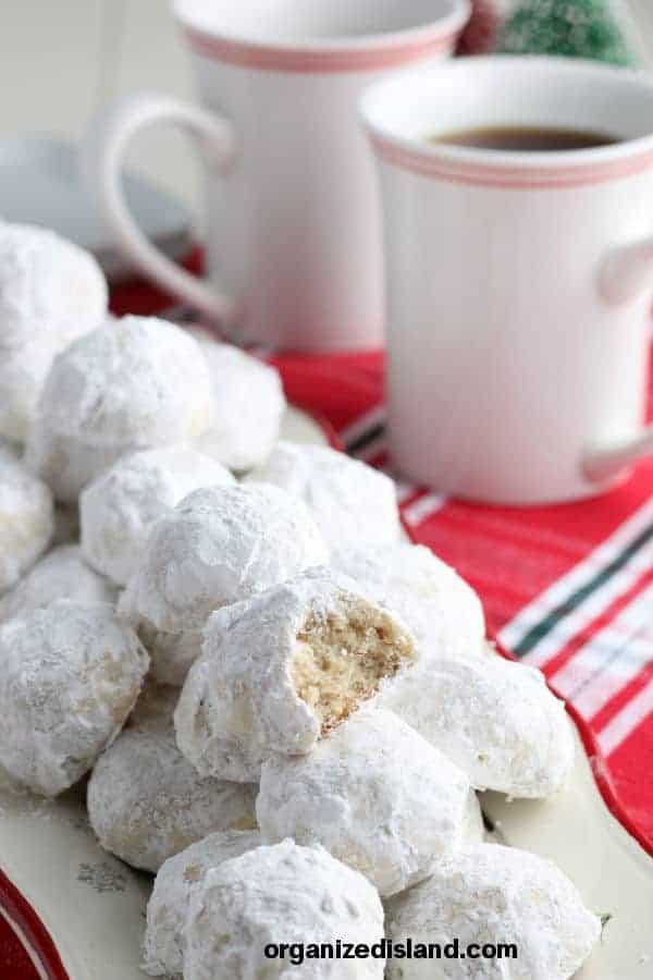 Best Snowball Cookies Recipe