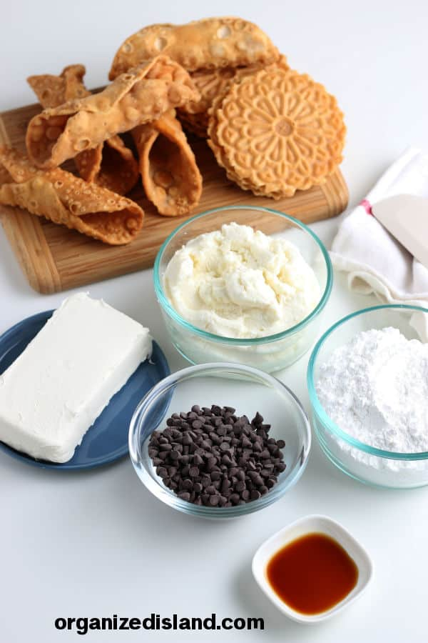 Cannoli Dip Ingredients
