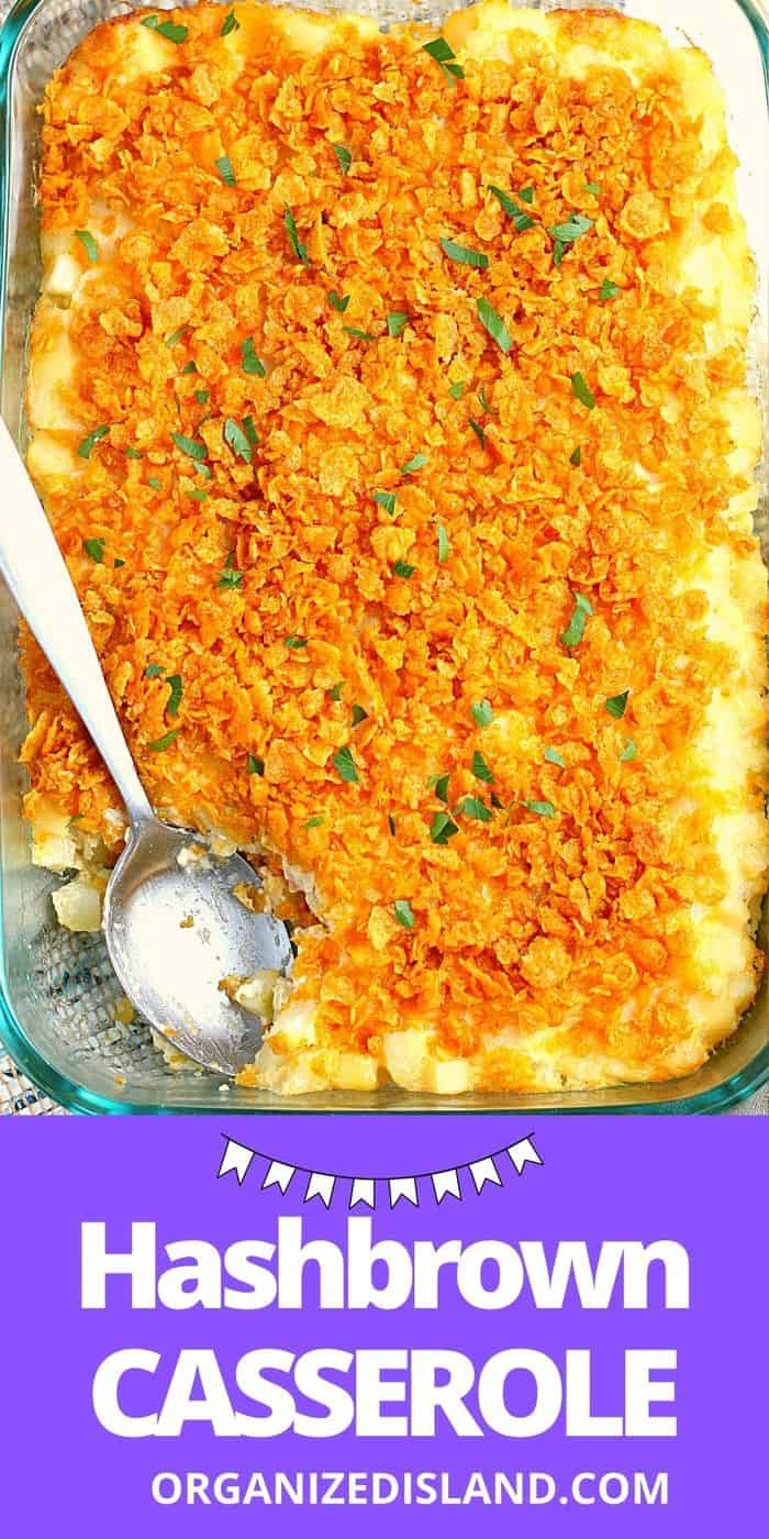 Easy Hashbrown Casserole Recipe