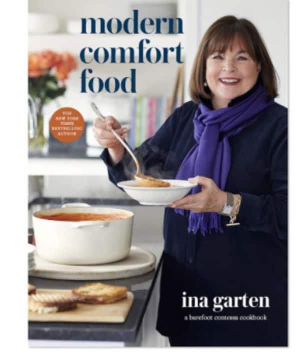 Ina Garten cookbook comfort food