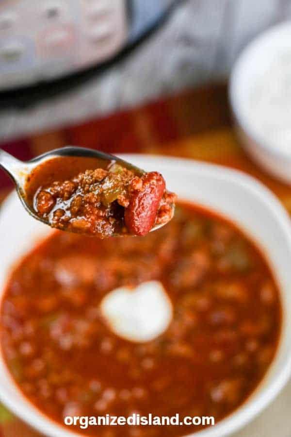 Instant Pot Copycat Wendys Chili