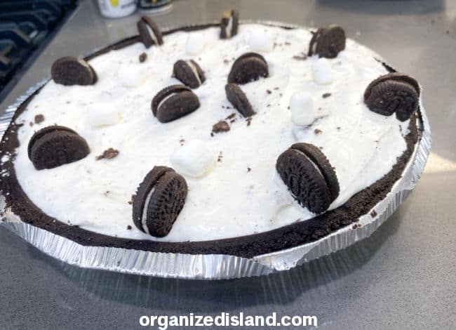 No Bake Oreo Cheesecak