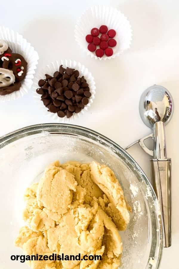 Reindeer Cookie shortcut ingredients