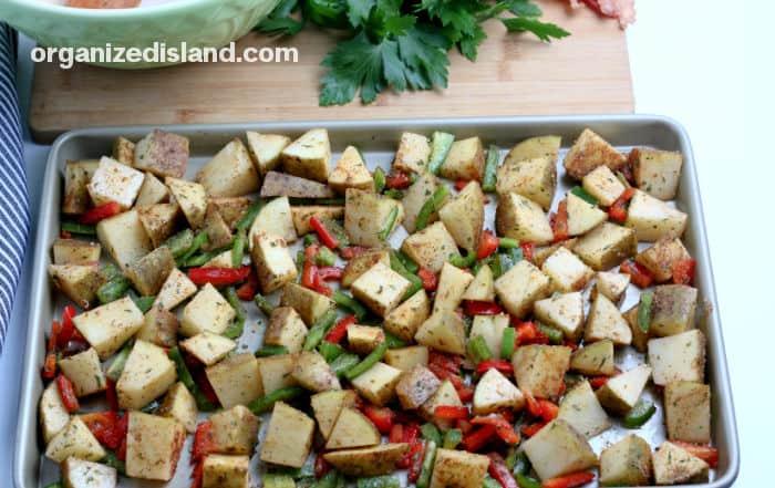 Breakfast Potatoes in Oven