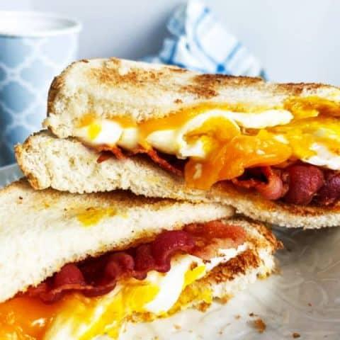 Egg Bacon Breakfast Sandwich
