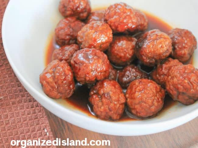 Grape Jelly Meatball Recip