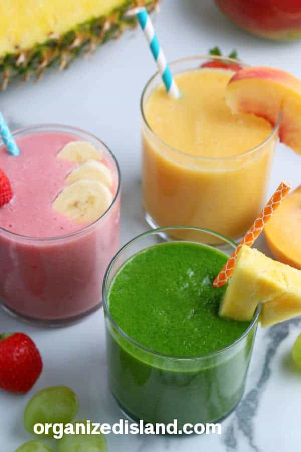 Healthy Fruit Smoothie Recipe