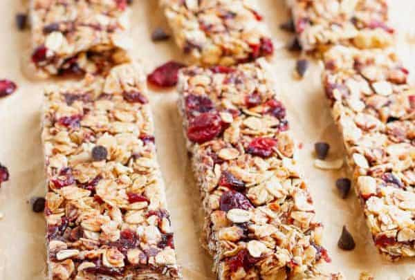 Homemade Granola Bars Recipe Easy