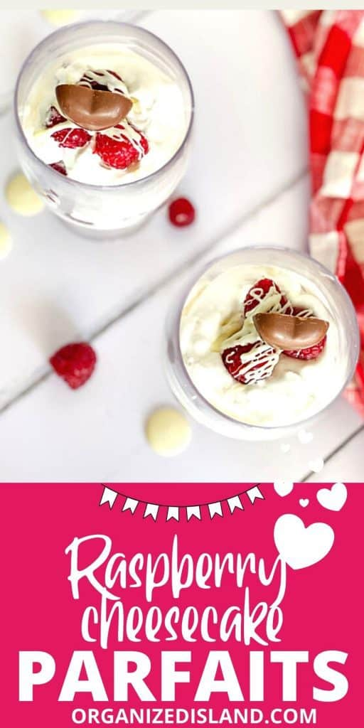Raspberry Cheesecake parfaits