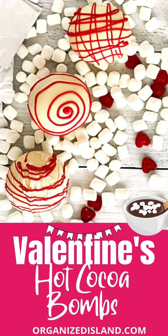Valentine's Hot Cocoa Bombs