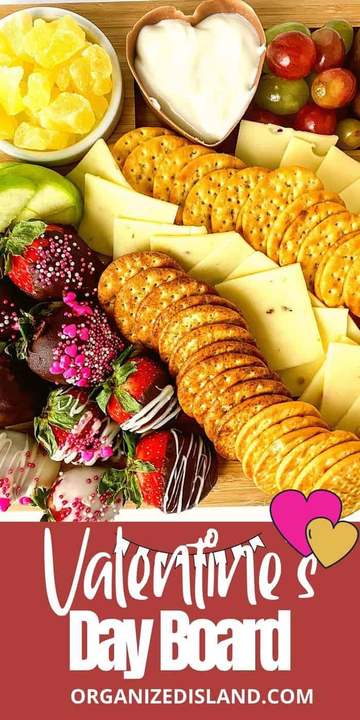 Valentine's Food Board