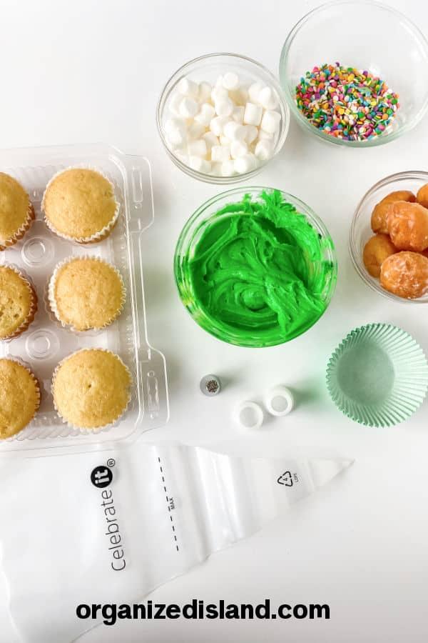 Bunny Butt cupcake ingredients