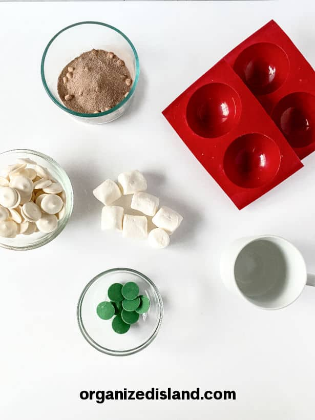 Hot Cocoa Bombs for St. Patrick's Day