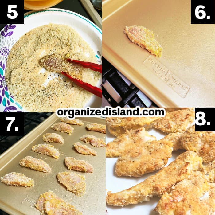 How to make Chicken Tenders