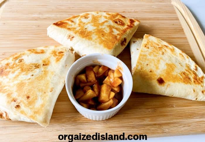 Caramel Apple Wraps Recipe