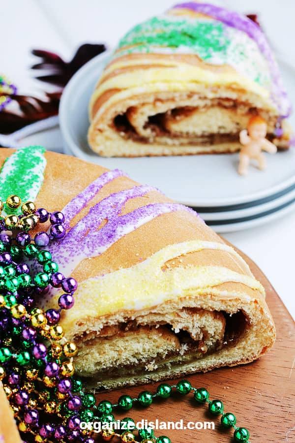 Mardi Gras King Cake Recipe