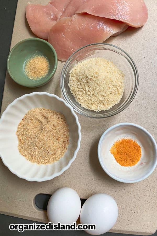 Oven Baked Chicken Tenders Ingredients