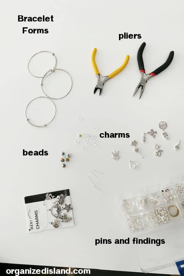 DIY Charm Bracelet Supplie