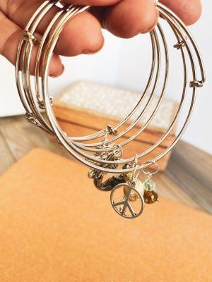 DIY Charm Bracelet Tutorial