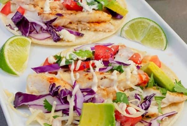 Easy Tilapia Fish Tacos