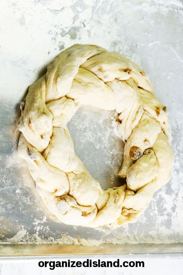 Making Italian Easter Bread